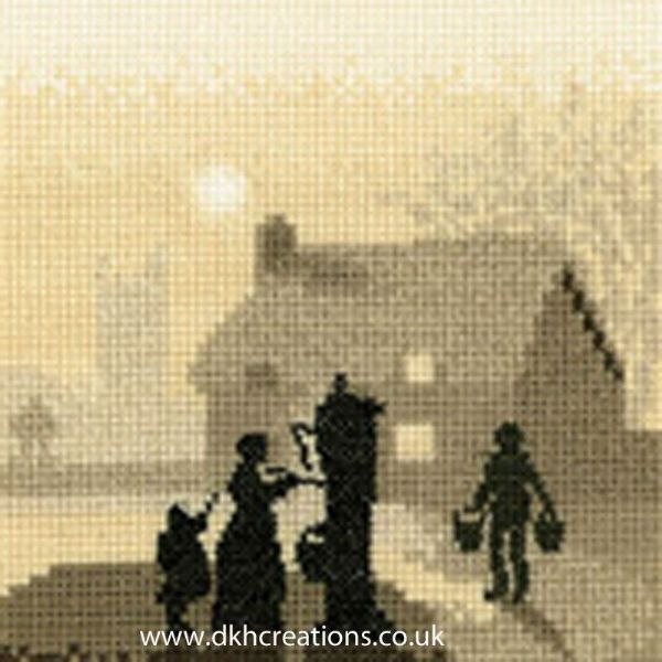 Village Pump Cross Stitch Kit